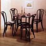 Шикарные гнутые венские стулья в интерьере