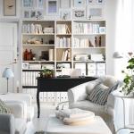 Шкаф вдоль стены – грамотная коррекция формы комнаты