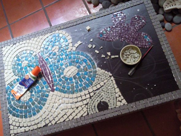 Создаем картину из мозаики