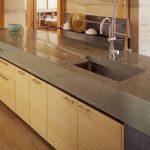 Столешницы из бетона имеют повышенную прочность