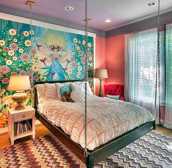 Подвесная кровать для детской