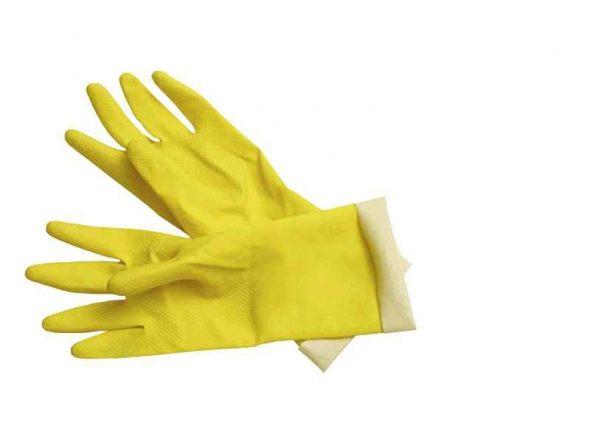 Защитные резиновые перчатки