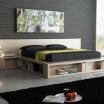 Многофункциональный подиум используется в качестве кровати