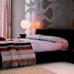 Восточная спальня с кроватью-подиум