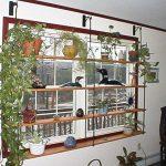 Декоративные полки на окно для цветов