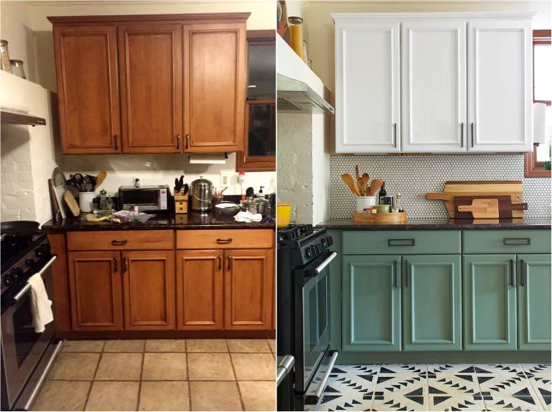 Кухонные фасады покрасить своими руками 26