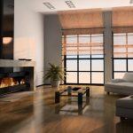 Дизайн гостиной в минимализме исключает все лишнее и нефункциональное