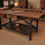Дизайн кухонной мебели в стиле лофт