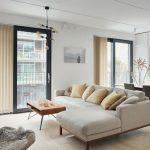 Дизайн совмещенной столовой-гостиной в стиле минимализм