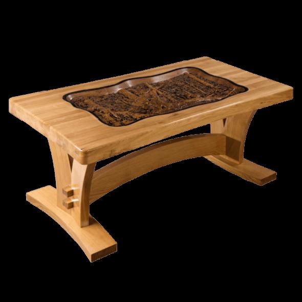 Дизайнерский резной стол ручной работы