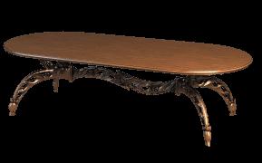 Экстравагантная модель деревянного стола