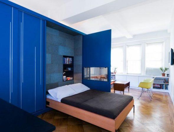 Функциональное решение для однокомнатной квартиры