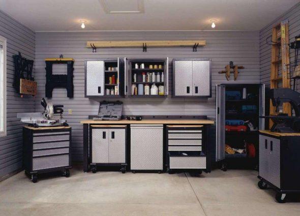 Идея обустройства гаража