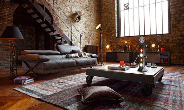 Индустриальный стиль, как жилье для бедных