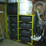 Компактная мебель для автомобильных шин