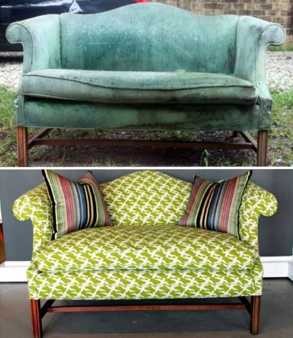 Старый диван своими руками 216