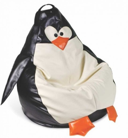Кресло-мешок в виде пингвина