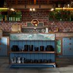 Кухня и шкафы в стиле лофт
