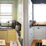 Кухонные шкафчики до и после ремонта