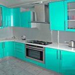 Кухонный гарнитур с новыми фасадами