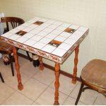 Квадратный стол ручной работы для обеденной зоны
