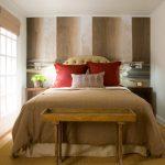Маленькая стильная спальня