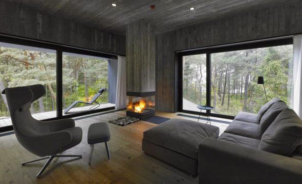 Мебель для гостиной с минимумом необходимого