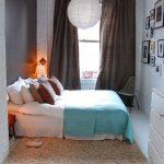 Мебель для маленькой узкой спальни