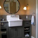 Мебель для ванной в деревенском стиле