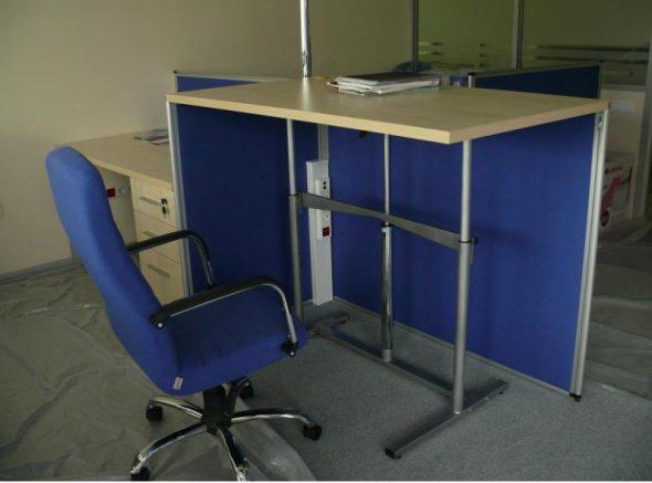 Модель регулируемого стола