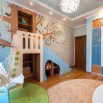 Мягкое подвесное кресло в виде гамака для детской комнаты