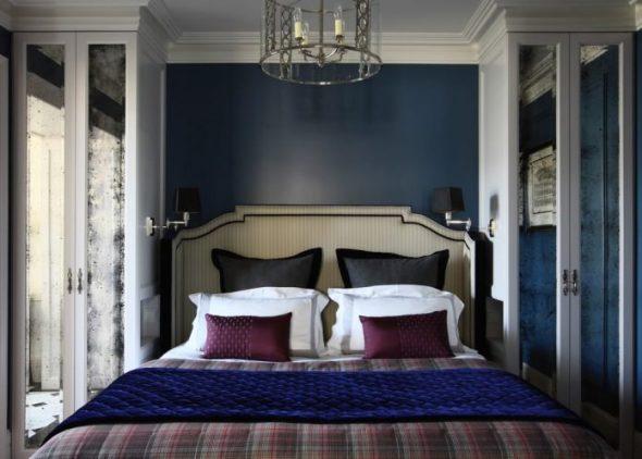 Небольшая роскошная спальня