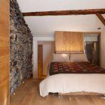 Небольшая спальня в эко стиле