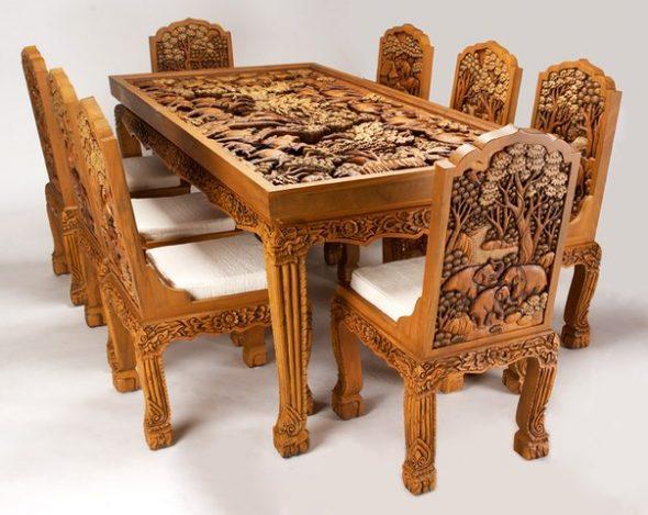 Необычная арт-мебель ручной работы