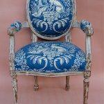 Необычная обивка для стульев