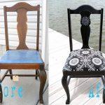 Обеденный стул в оригинальном оформлении