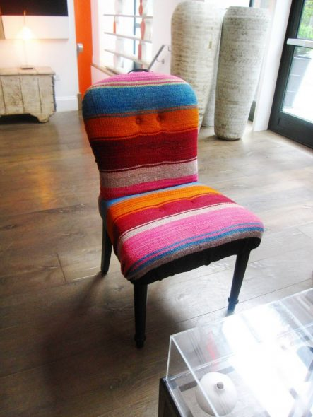 Вязанные стулья
