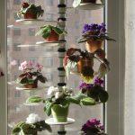 Подставка для цветов угловая