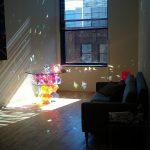 Радужный дизайнерский стол