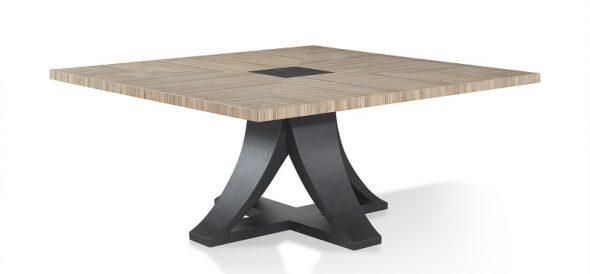 Раскладной квадратный стол