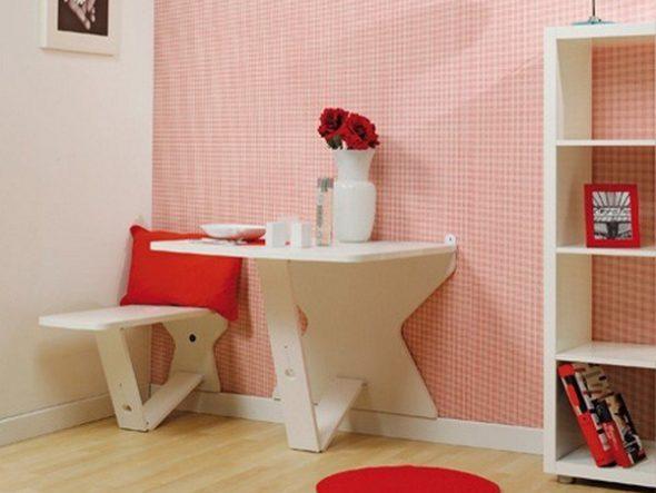 Раскладной стол и стул