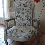 Реставрация стула в стиле лофт