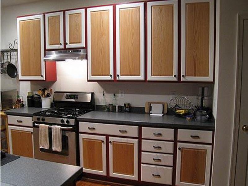 Деревянная кухня как обновить своими руками 587