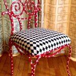 Шахматное сиденье для оригинального мягкого стула