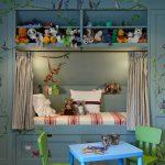 Сказочное спальное место в детской