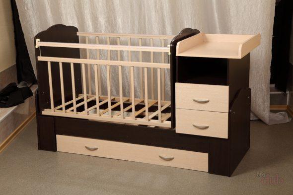 Пеленатор-комод-кровать