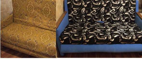 Старый советский диван