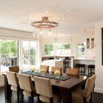 Стол прямоугольной формы для кухни студии