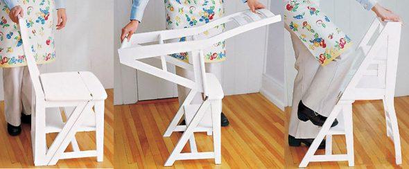 Стул-лестница - удобство и функциональность