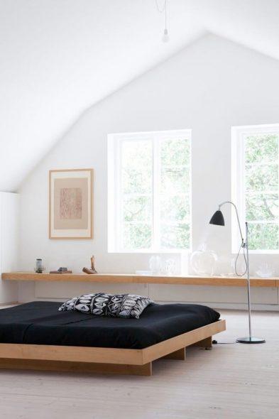 Светлая уютная спальня